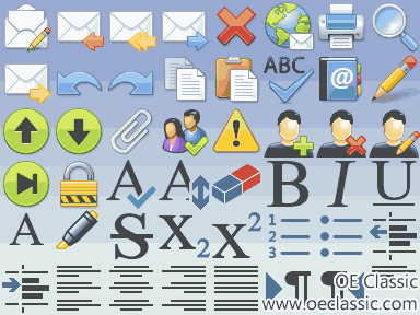 New 48x48 icon size for all toolbars.