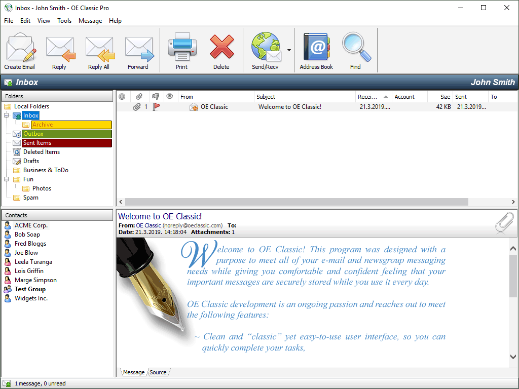 descargar outlook express windows 7 64 bits