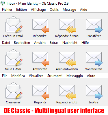 OE Classic now speaks 11 languages and the multilingual support will continue to improve in the new updates